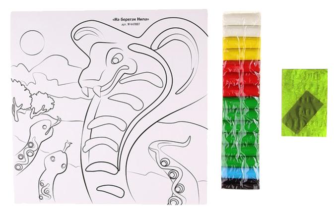 Купить На берегах Нила, Набор для лепки из пластилина Фантазер На Берегах Нила 447007, Лепка