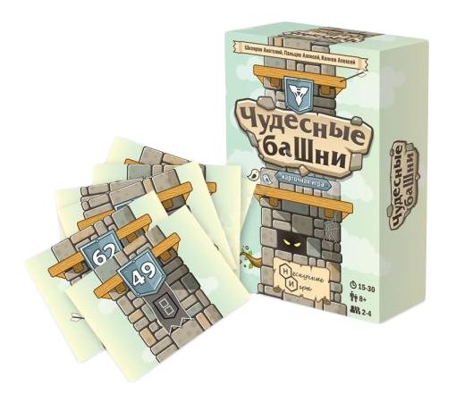 Семейная настольная игра Бэмби Чудесные башни