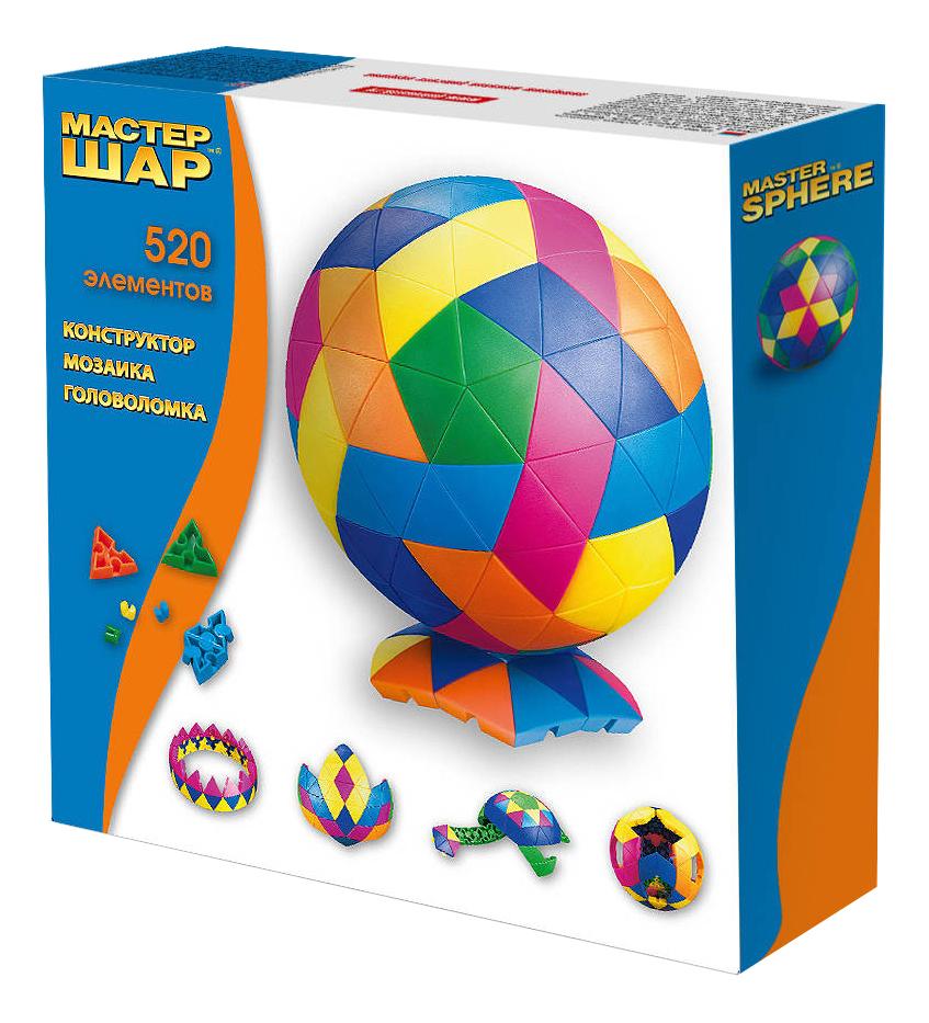 Конструктор пластиковый Бэмби Мастер шар