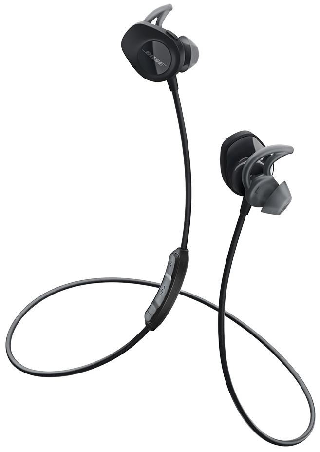 Беспроводные наушники Bose SoundSport Wireless Headphones Black