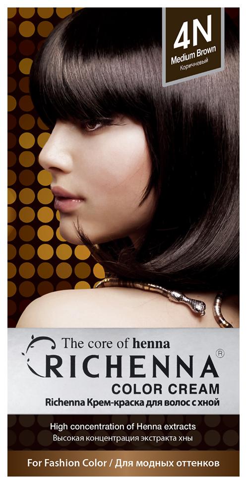 Купить Краска для волос RICHENNA Color Cream 4N Brown