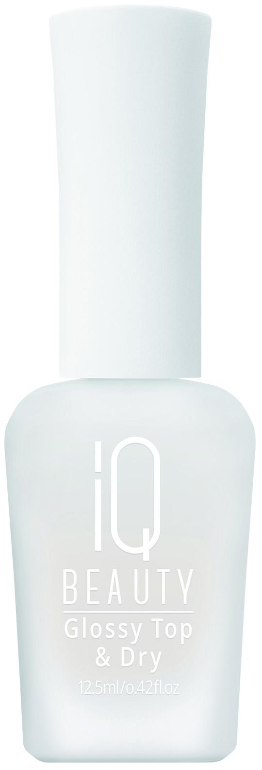 Закрепитель лака для ногтей IQ Beauty Glossy