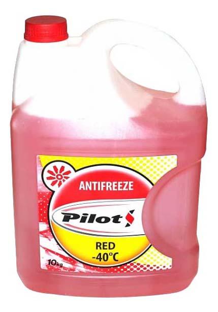Антифриз PILOTS Красный Готовый антифриз -40 10кг 3212 фото