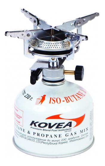 Туристическая горелка газовая Kovea Hiker Stove KB-0408 фото