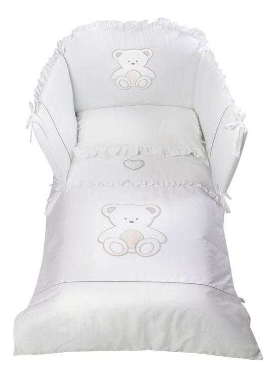 Комплект детского постельного белья Italbaby Peluche белый
