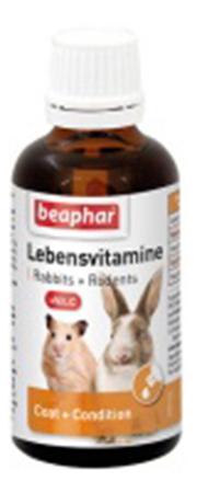 Витаминный комплекс для грызунов Beaphar Lebensvitamine,