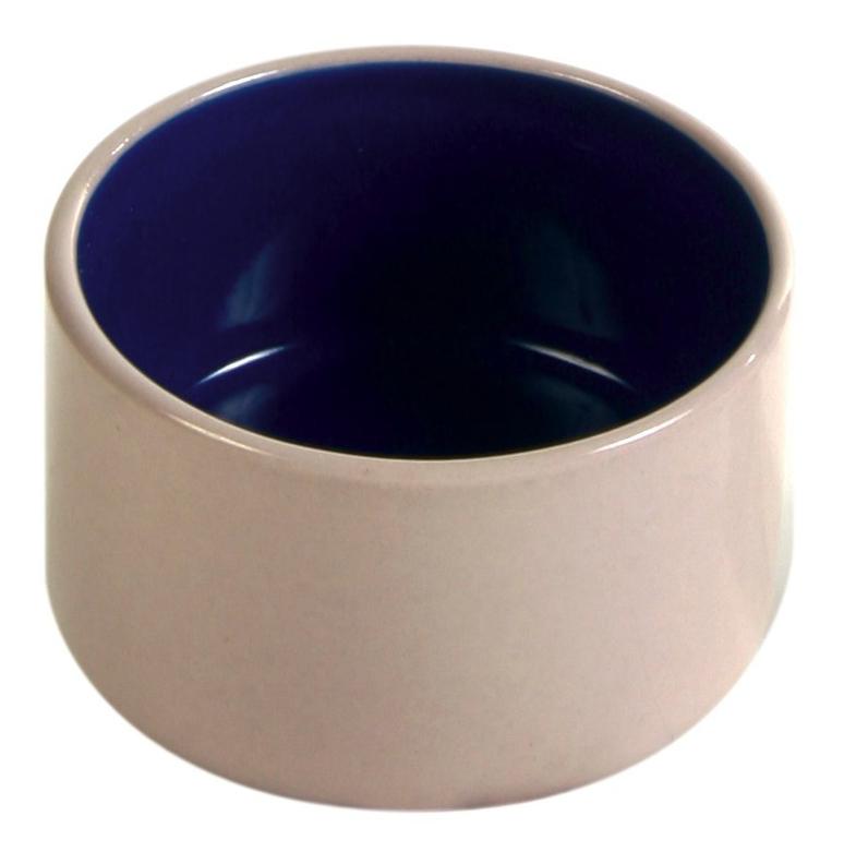 Одинарная миска для грызунов TRIXIE, керамика, белый,