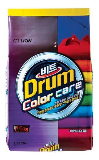 Порошок для стирки Lion beat drum color