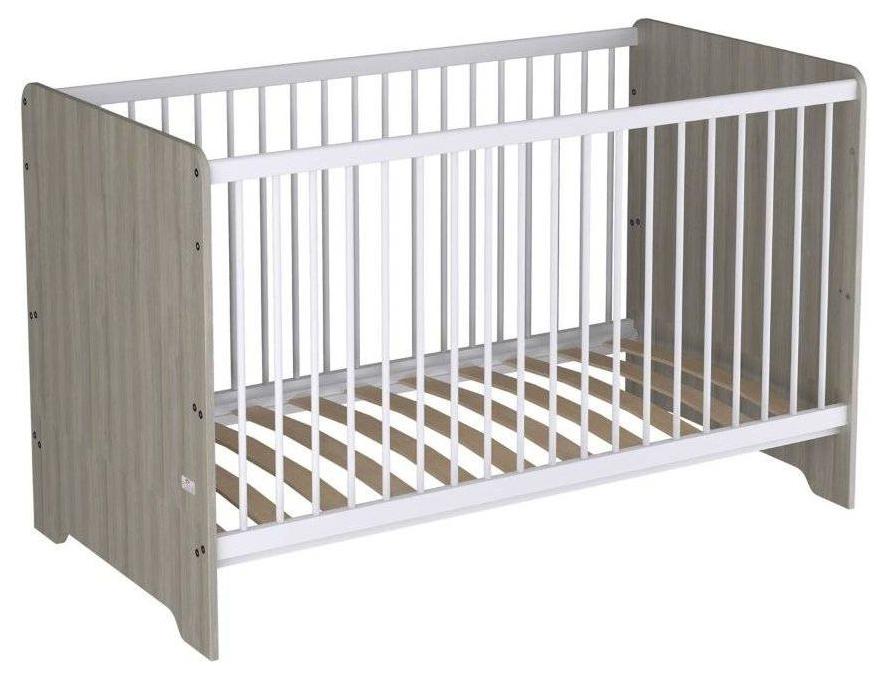 Купить Кроватка-трансформер детская Polini Simple Nordic 140*70 см, вяз,