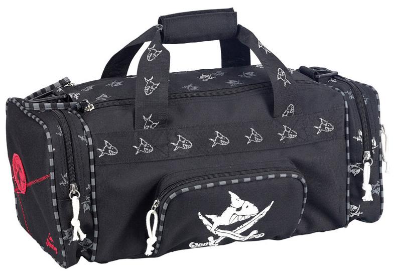 Спортивная сумка Spiegelburg Capt'n Sharky черная фото
