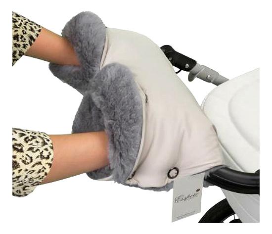 Муфта для рук мамы на детскую коляску Esspero На коляску Four Lux Beige