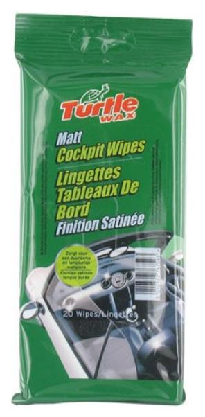 Очиститель для кожи Turtle Wax Leather Wipes FG6569