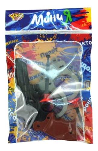 Купить Револьвер, Набор полицейского Yako Toys M6084, Shantou Gepai,