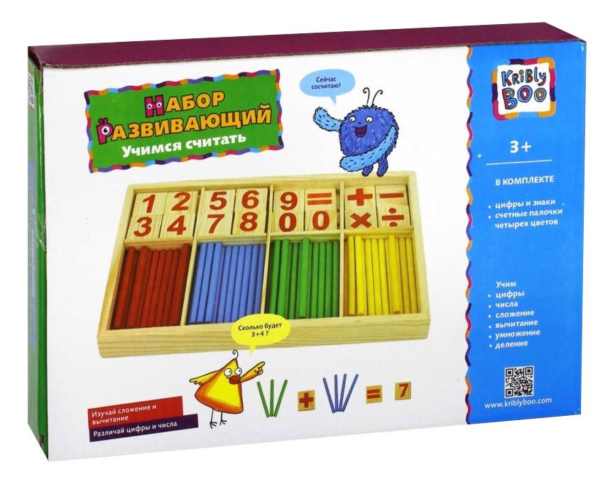 картинка Развивающая игрушка KriBly Boo Учимся считать от магазина Bebikam.ru