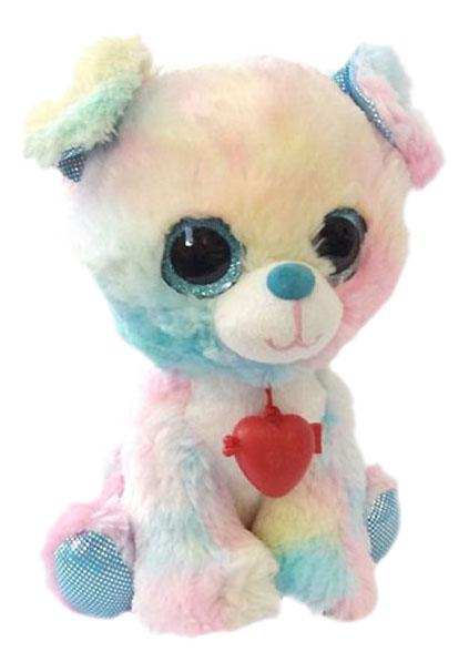 Купить Мягкая игрушка домашнее животное SBB0RS, Мягкая игрушка Fancy Глазастик Собачка 22 см Sbb0RS, Мягкие игрушки животные