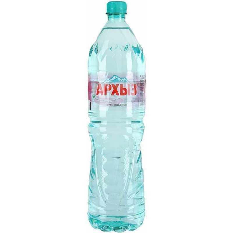 Вода минеральная Архыз негазированная пластик 1.5 л
