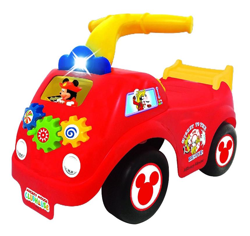 Толокар Спортивная машина Микки Мауса красный Kiddieland