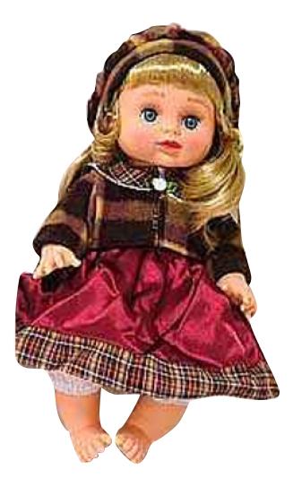 Купить В теплом платье в сумке, Кукла в теплом платье в сумке Play Smart Д12915, PLAYSMART, Классические куклы