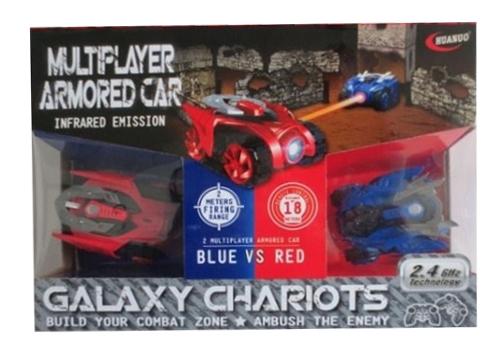Купить Shantou Gepai Набор их 2 машинок на ик управлении galaxy chariots B1666082, Радиоуправляемые машинки