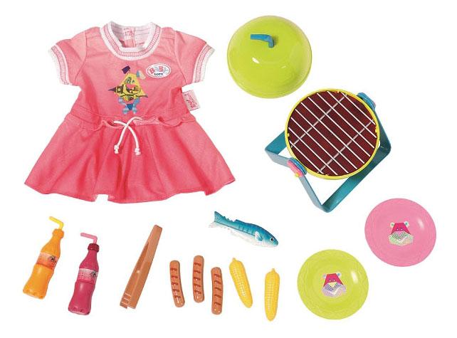 Купить Baby born 824-733 Бэби Борн Набор для барбекю, Набор для барбекю 824-733 для Baby Born Zapf Creation, Аксессуары для кукол