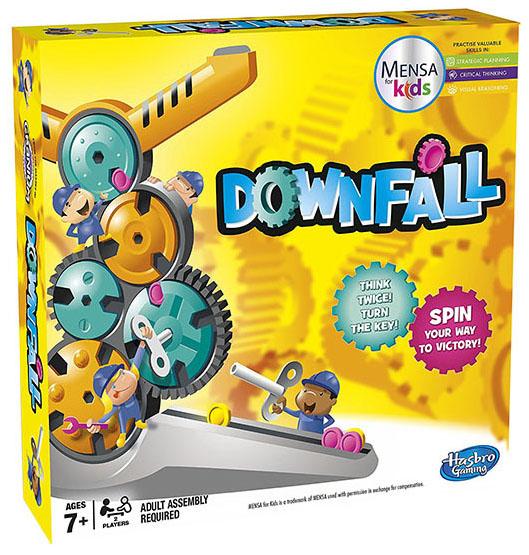Купить Семейная настольная игра Hasbro Other Games Веселый Спуск, Hasbro Games, Семейные настольные игры