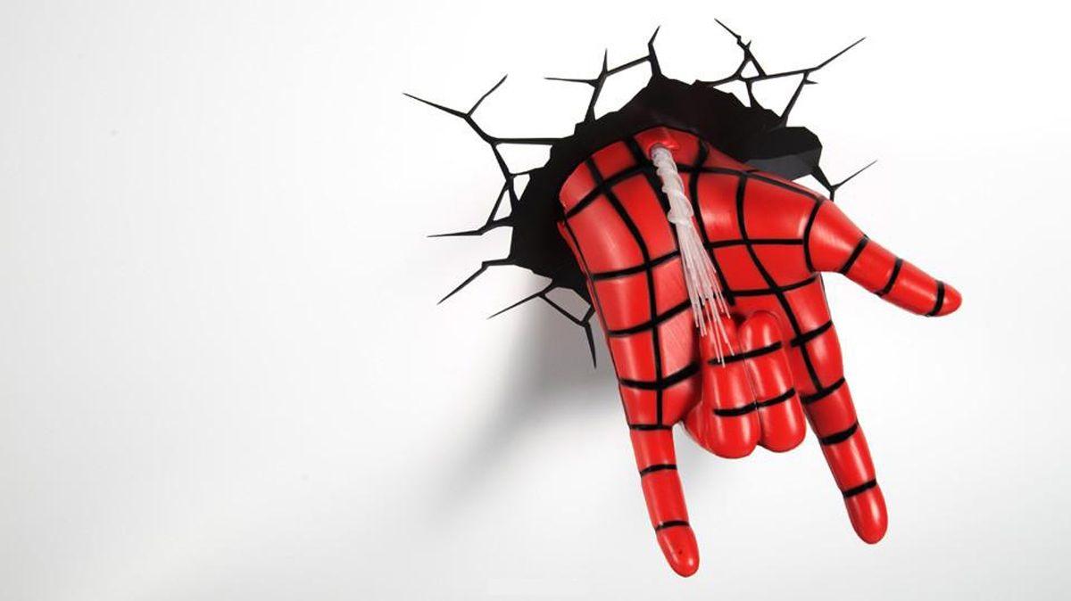 Настенный 3D cветильник 3DLightFX Spiderman Hand
