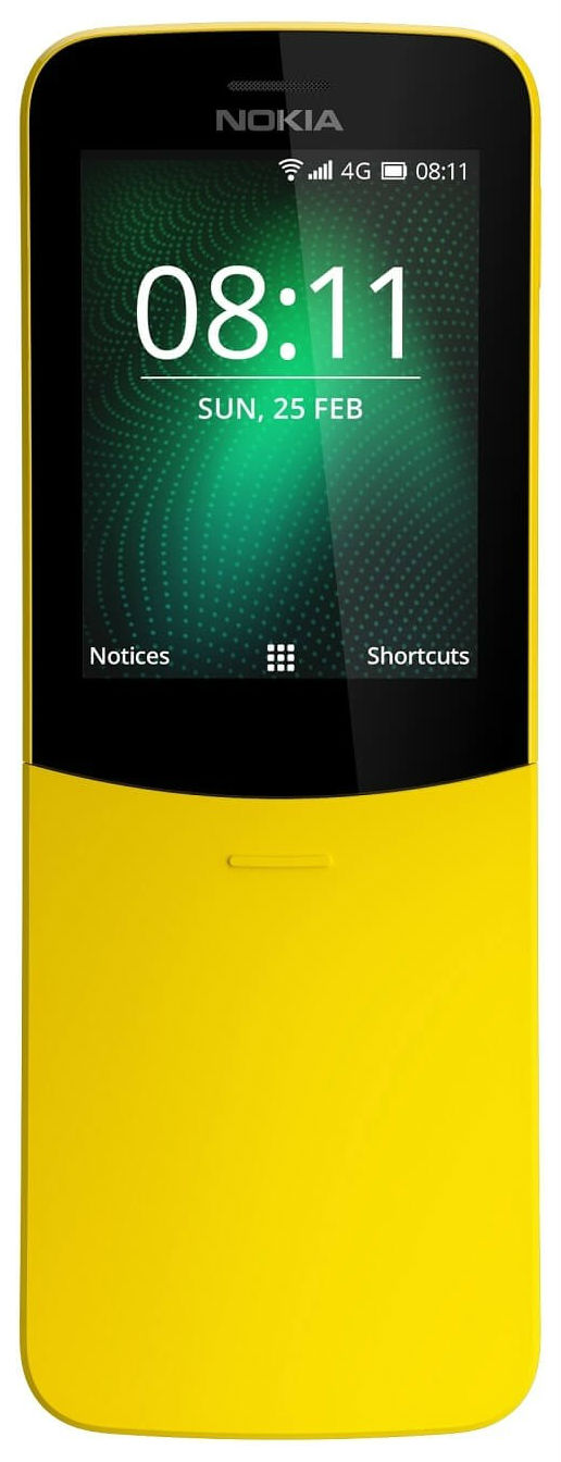 Мобильный телефон Nokia 8110 (TA 1048) Yellow