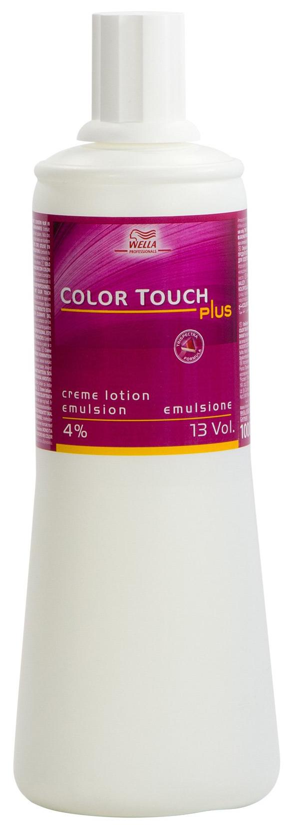 Проявитель Wella Professionals Color Touch Plus 4% 1000