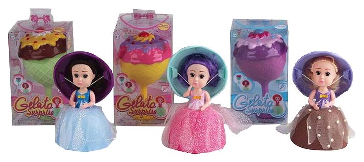 Купить Cupcake Jelato LM2309A, Кукла-кекс Cupcake Jelato 3 вида LM2309A, Junfa toys, Классические куклы