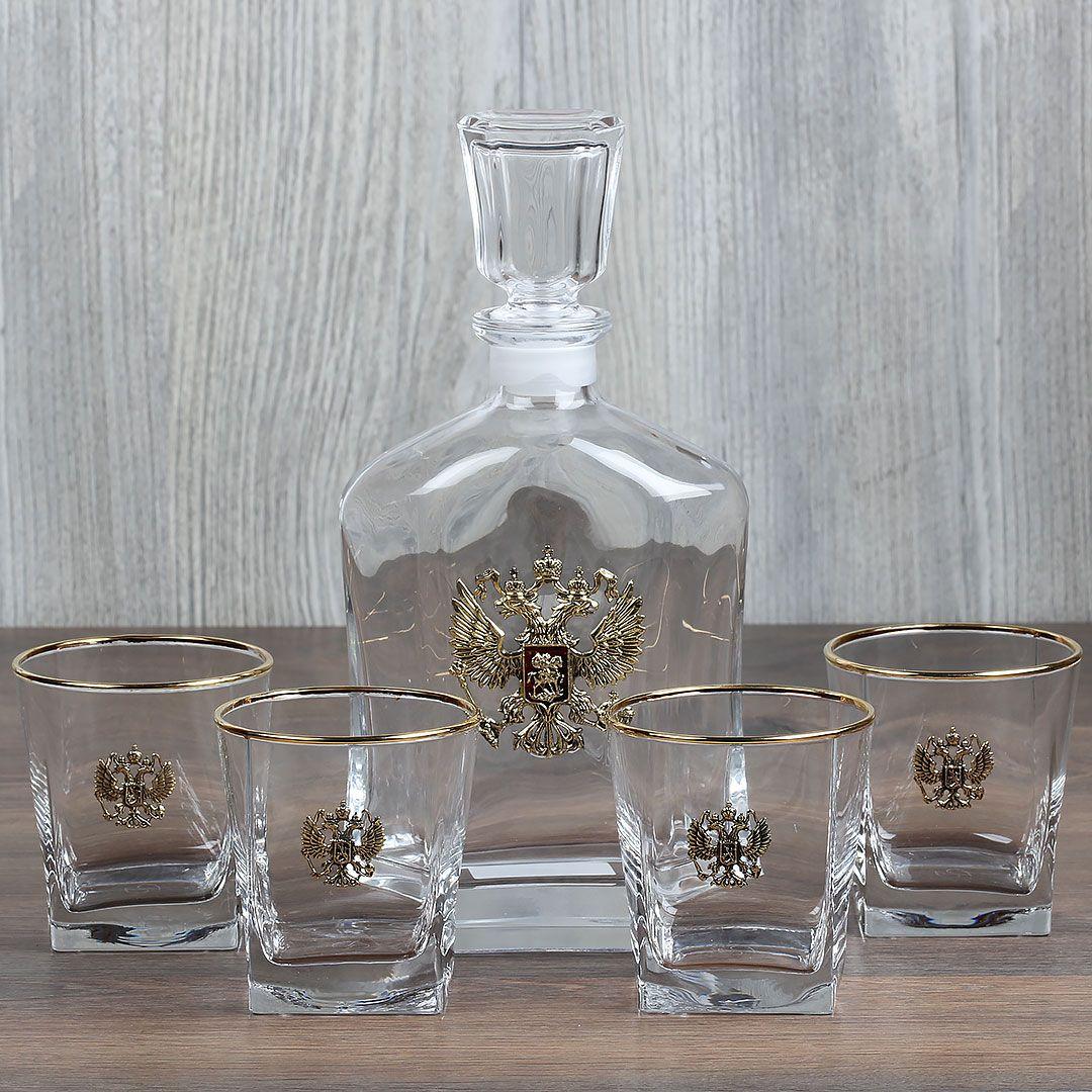 Набор  для виски со  штофом