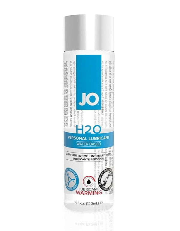 Купить Гель-смазка JO Personal Lubricant H2O Warming на водной основе 120 мл, System JO