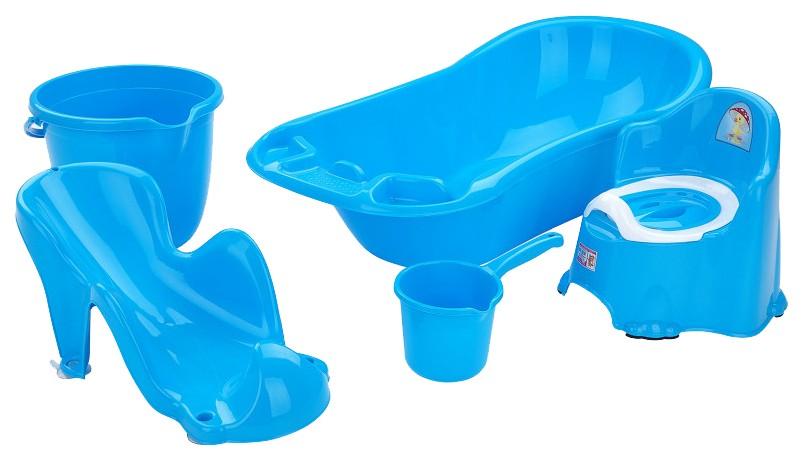 DUNYA Набор для детей 5 предметов Голубой
