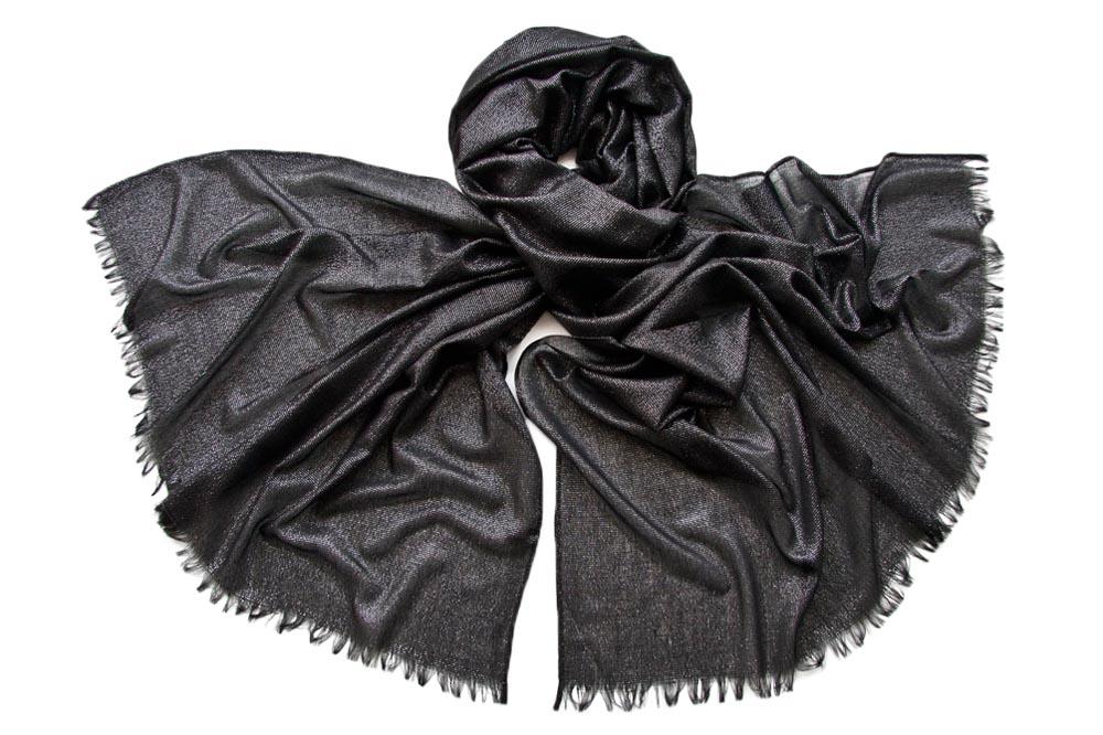 Палантин женский Tranini 652 черный