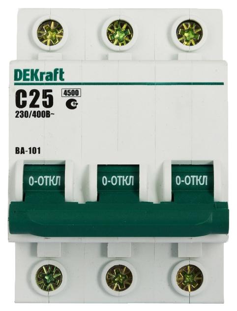 Автоматический выключатель DEKraft, арт. 11080DEK фото