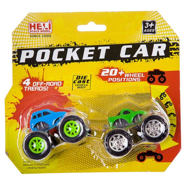 Купить Набор из 2-х метал. джипов с изменяемой позицией колёс, CRD 18, 5x14x7 см, арт.5013-2., Heli, Коллекционные модели
