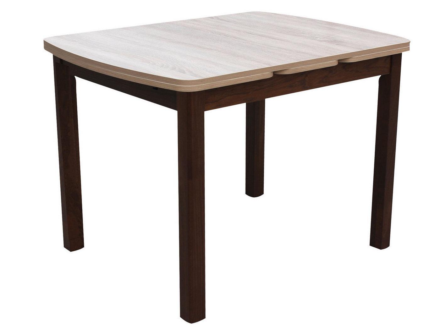 Обеденный стол Mebwill Орлеан 1,7 ЛДСП Орех темный / Дуб Сонома