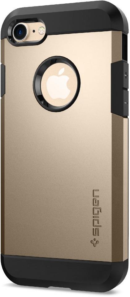 Чехол Spigen Tough Armor для Apple iPhone 7 Champagne Gold (042CS20490)