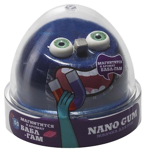 Жвачка для рук Slime Nano gum магнитный с ароматом баблгама
