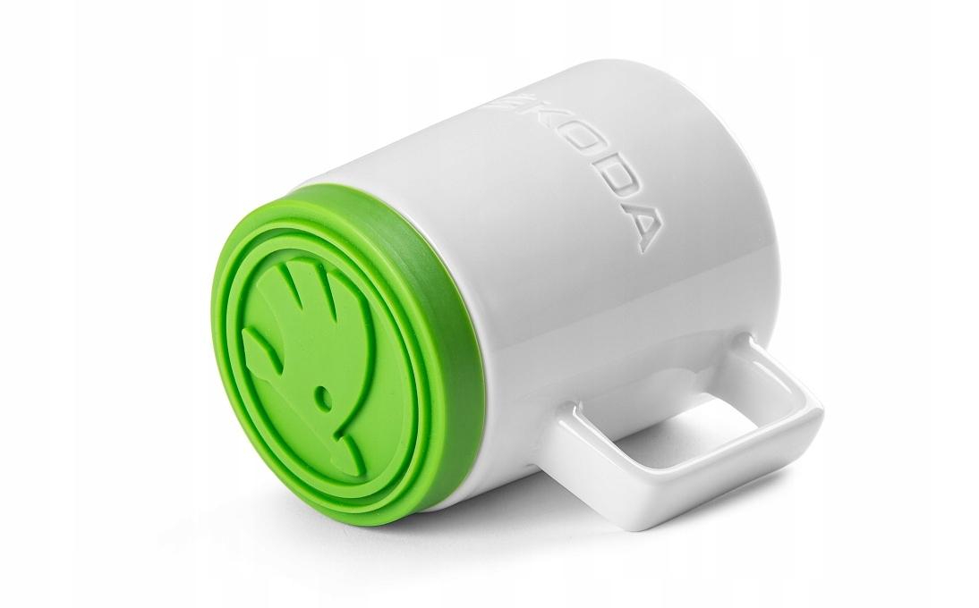 Чашка С Зеленой Силиконовой Подушечкой VAG 000069601BK
