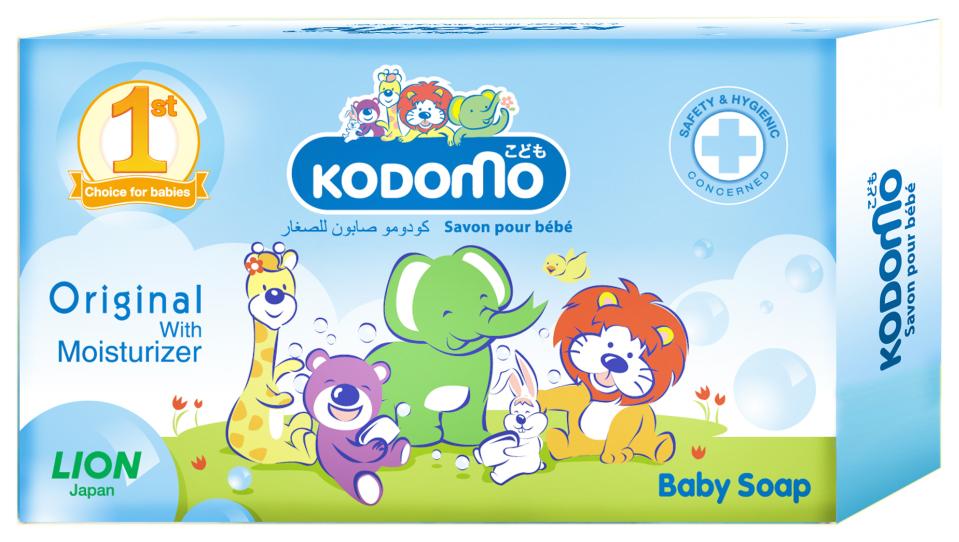 Lion Kodomo Мыло детское с увлажняющим кремом