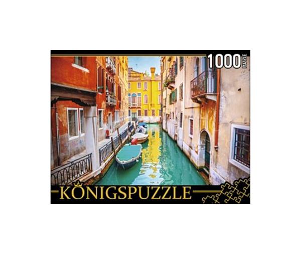 Купить Пазл Konigspuzzle Венецианская улочка ГИК1000-8236 1000 деталей, Königspuzzle, Пазлы
