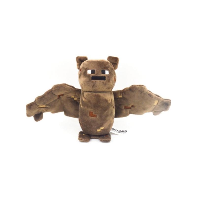 Купить Мягкая игрушка Minecraft Bat Летучая мышь 18 см, Мягкие игрушки персонажи