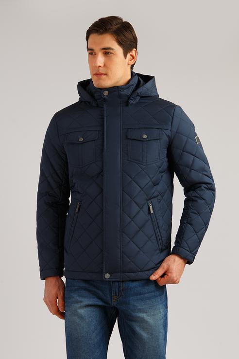Куртка мужская Finn Flare B19-22001 синий L фото