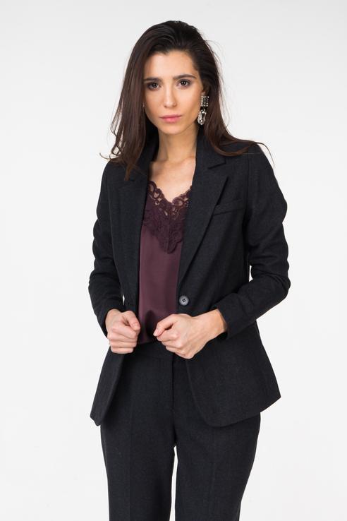 Пиджак женский ICHI 20107546 черный S