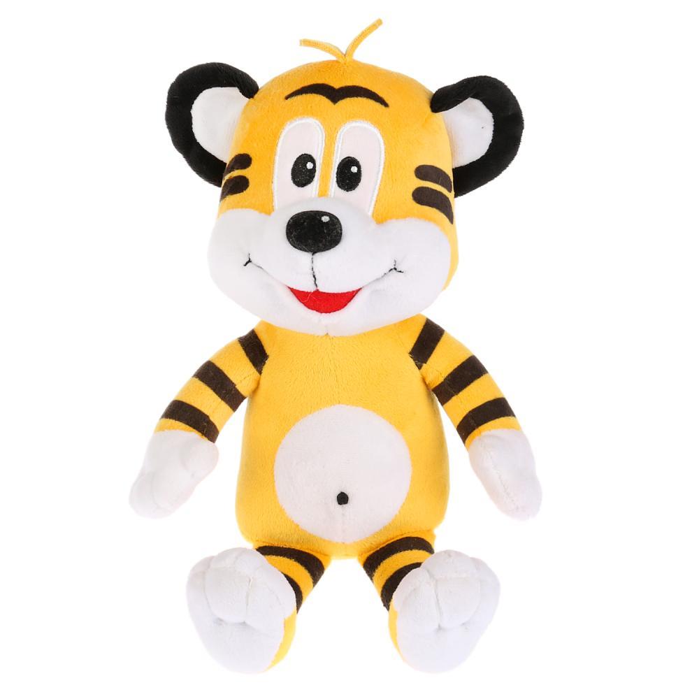 Купить Мягкая игрушка Мульти-Пульти Тигренок по дороге с облаками, Мягкие игрушки персонажи