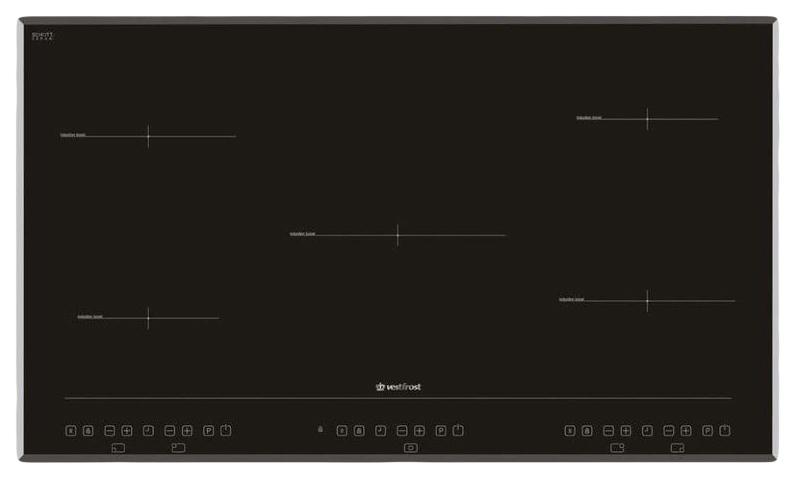 Встраиваемая варочная панель индукционная Vestfrost VFIND90HB Black