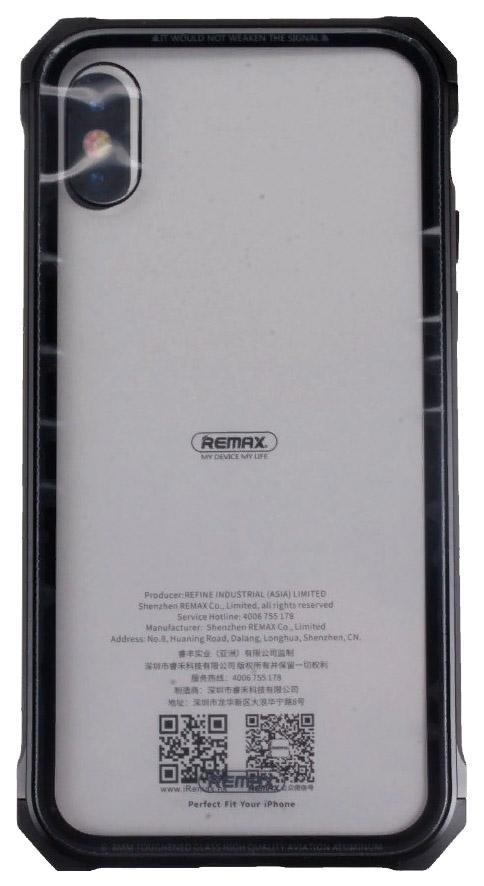Чехол Remax Kooble Black Apple iPhone X
