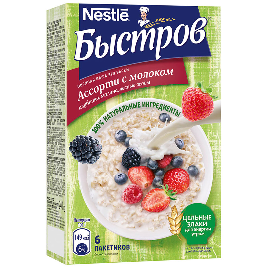 Готовые завтраки, каши, мюсли Matti или Готовые завтраки, каши, мюсли Быстров — что лучше