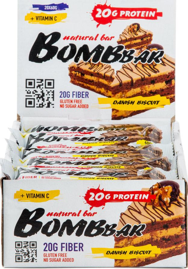 Протеиновый батончик Bombbar Natural Bar 20