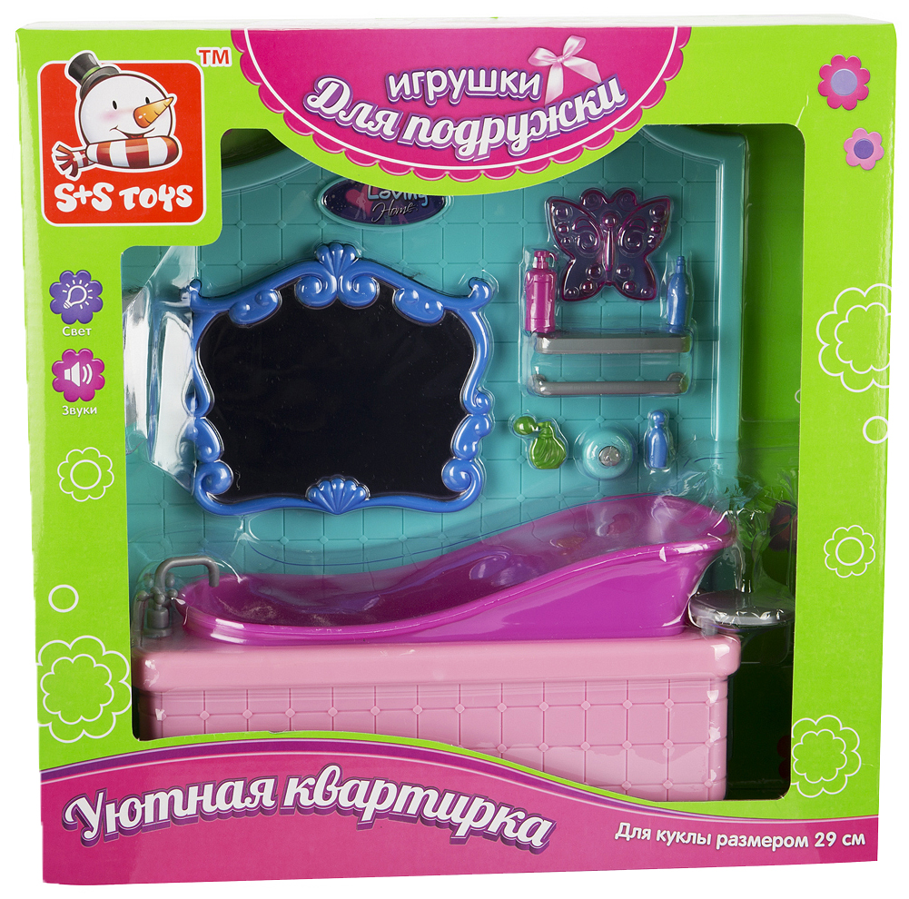 Мебель для кукол S+S Toys Ванная комната ES-2908
